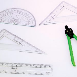 Geometry Math Set, Set of 6