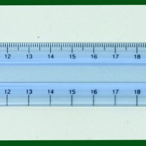 Clearview Metric Ruler 30 cm