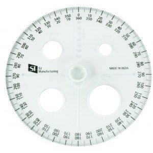 SI Circular Protractor