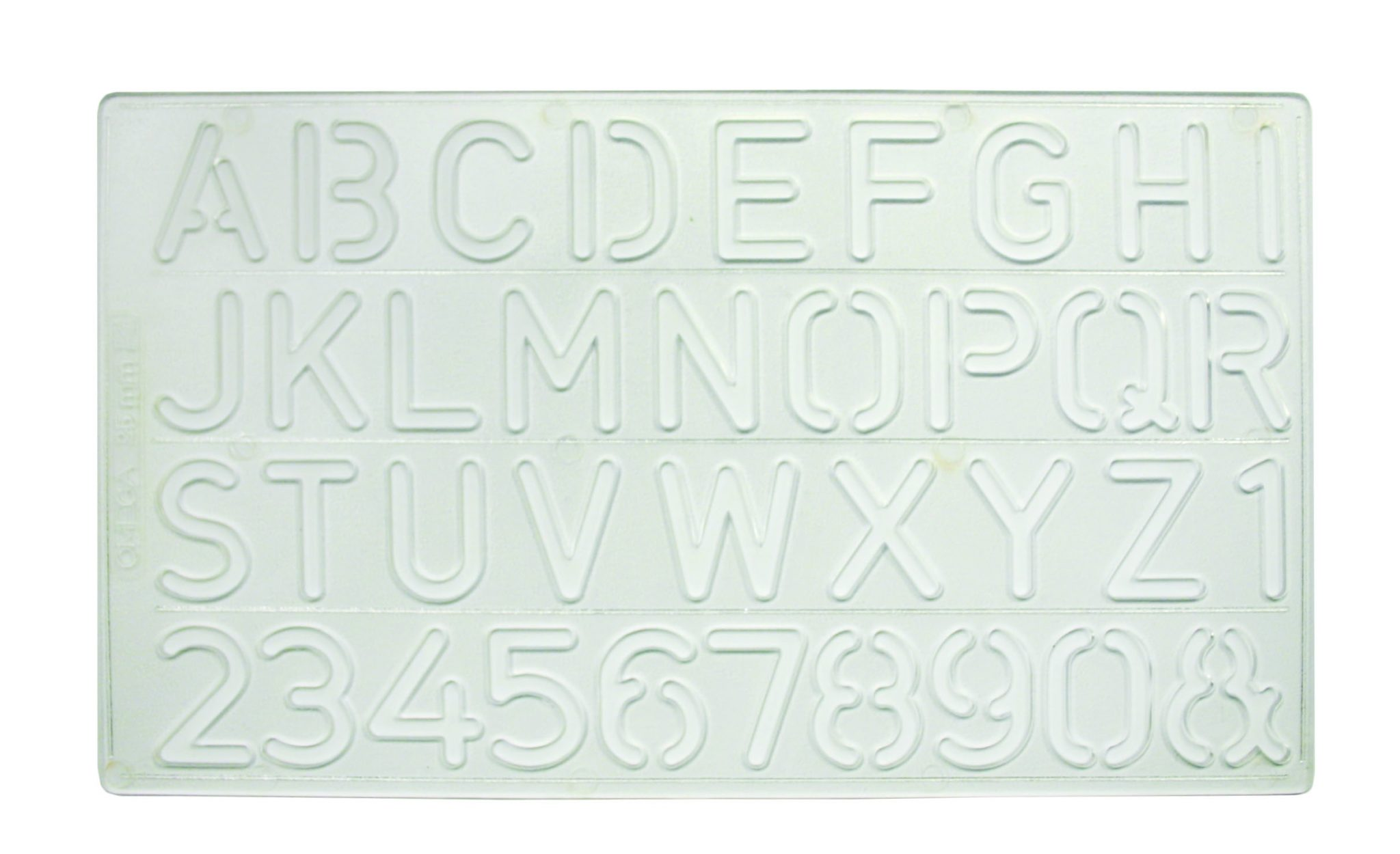 Letter Addressing Stencil.Letters Numbers Stencil Large