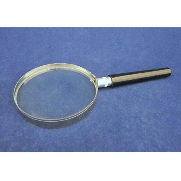 Glass Magnifier with Plastic Handle - 75MM - 3X Magnification