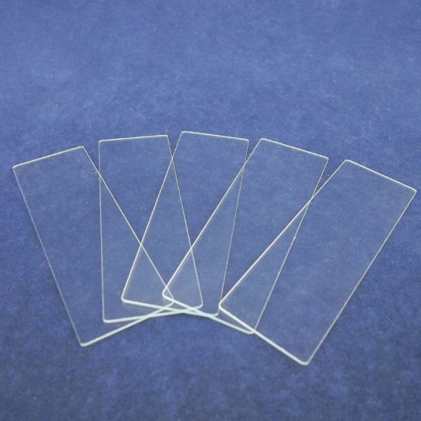 Glass Microscope Slides with Single Depression - Pack of 12
