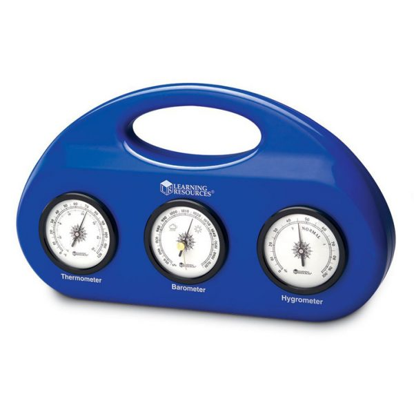 Weather Center - Includes Barometer, Hygrometer & Thermometer in PLAST...