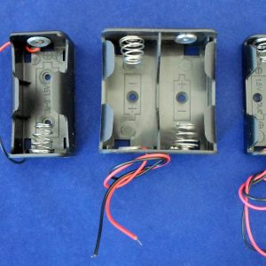 4 x AAA Battery Holders with Lead Wires - Pack of 10