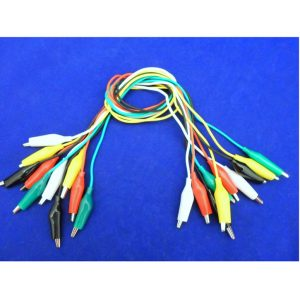 Leadwire with Alligator Clips - 30CM