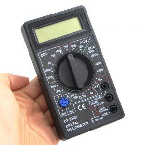 Digital multimeter - AC DC