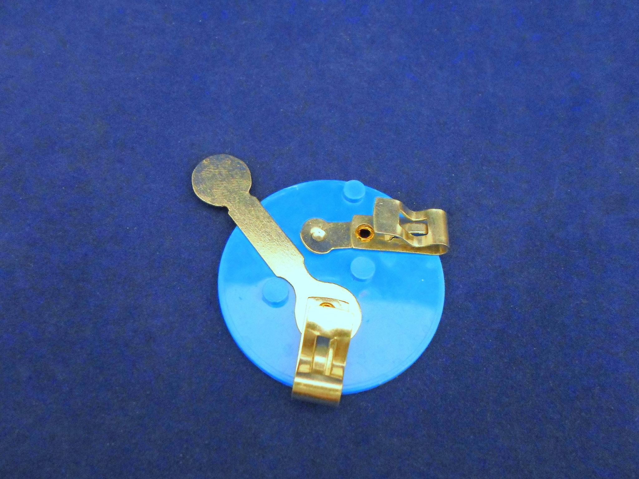 Ajax Scientific EL100-0001 Bulb Holder with Fahnstock Clip 55 mm Diameter