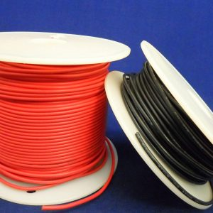Wire Hook-up 22AWG Stranded PVC Black