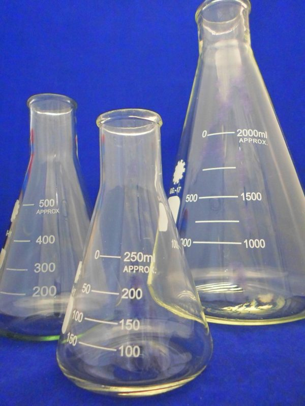 Flask Conical / Erlenmeyer Narrow Mouth (NM)