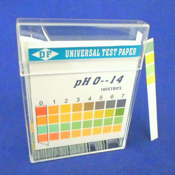pH Paper 0 - 14 - 100 Strips / Vial