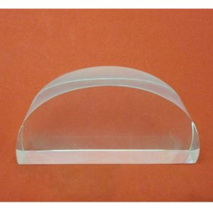 Semi Circular Acrylic Block