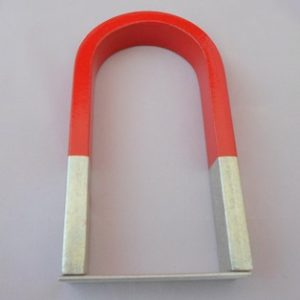 Magnet - U Shape Steel 14X8X2cm with Keeper