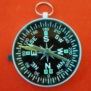 Magnetic Compass 45MM Lum Needle & Lock