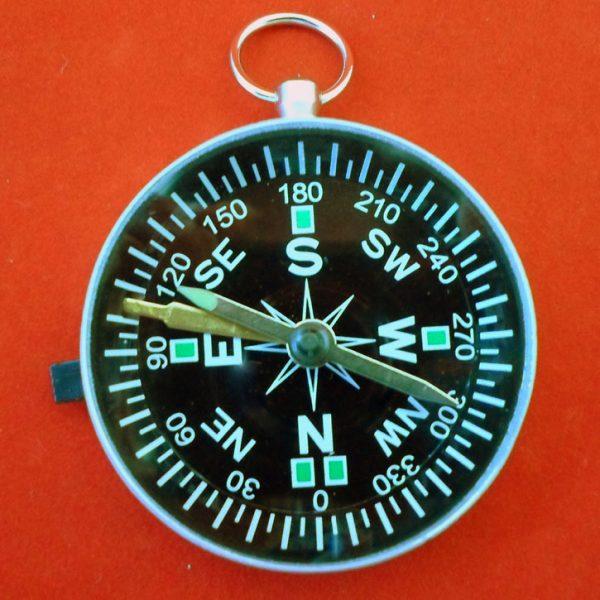 Magnetic Compass 45MM Lum Needle & Lock
