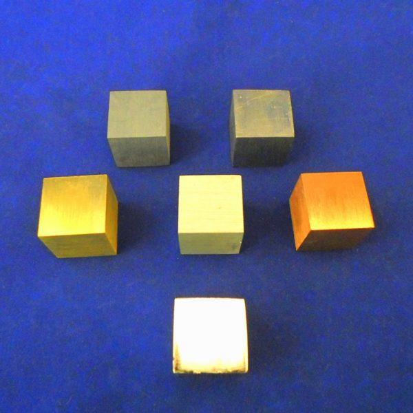 Cube Metal Set / 6 - 20mm