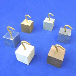 Cube Hooked Metal Set of 6 - 20 MM