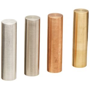 Specific Gravity Cylinder Metal - Set of 4