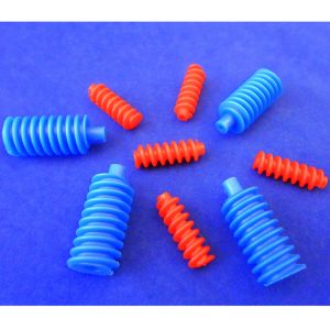 Worm Plastic - Pack of 100