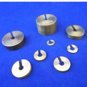 Slotted Weight - Brass
