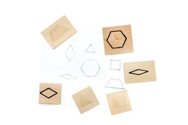 Stamps - Pattern Blocks Set of 6