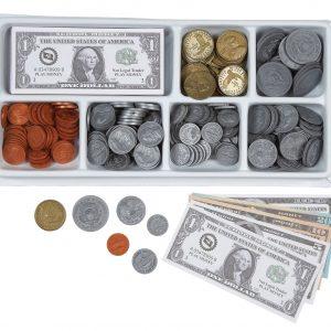 Mini Tray with US money