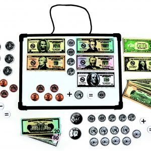 Magnetic Bills & Coins Set