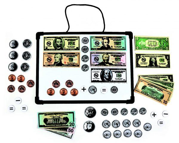Magnetic Bills & Coins Set