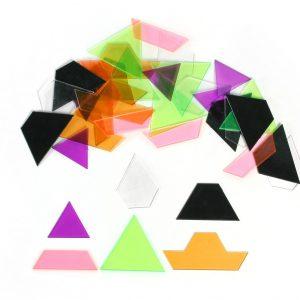 Transparent Deci-Blocks, Set of 36