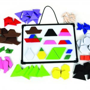 Magnetic Foam Pattern Blocks & Deci-Blocks