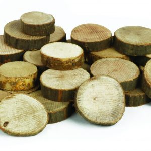 Wood Branch Cut offs - Circle