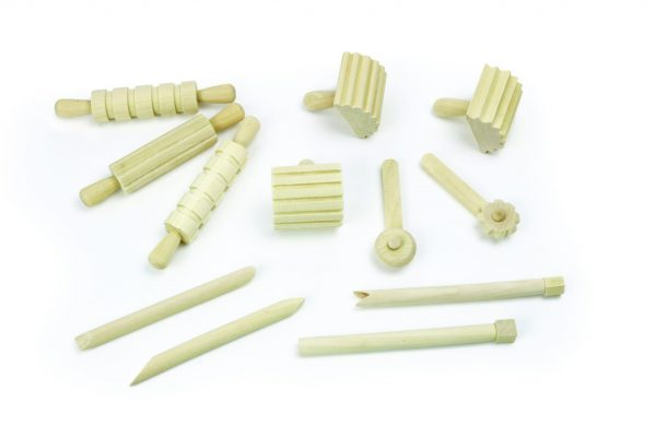 Wooden Dough Tool Set