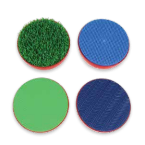 Giant Texture Palm Stampers Set of 4