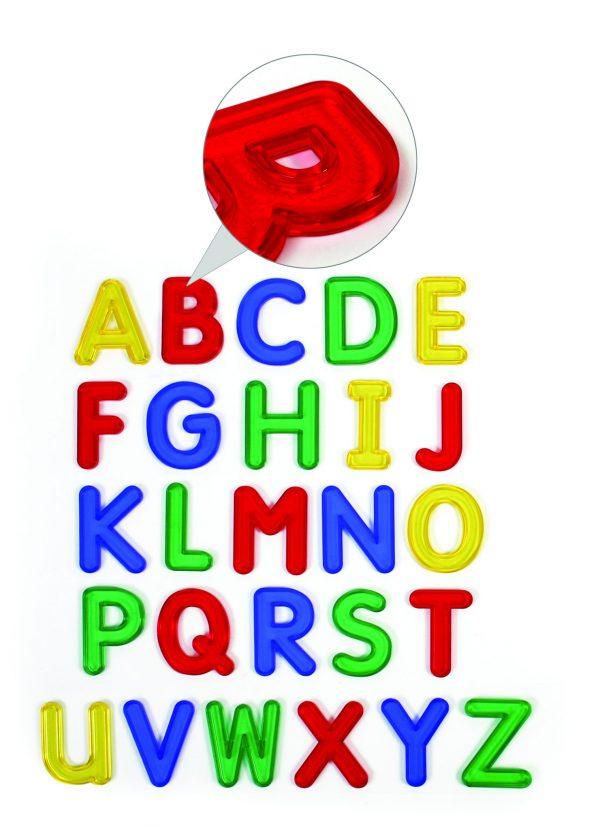 Jumbo See-Thru Alphabet