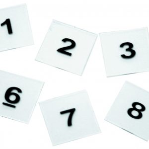 Overhead Number Tiles 0-9