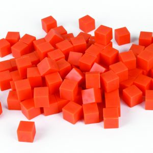 Base Ten, Orange/Unit Cube 1's (100) Non-linking