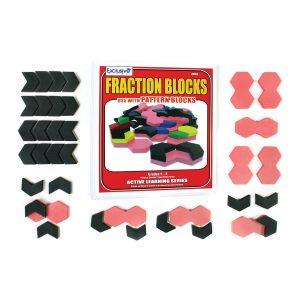 Plastic Fraction Blocks Set 70