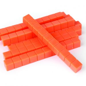 Base Ten Orange Rods-pkg 50