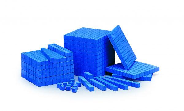 Base Ten, Foam Blocks Deci Cube Each