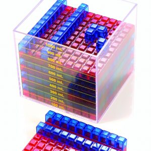 Clearview Liter Cube Set