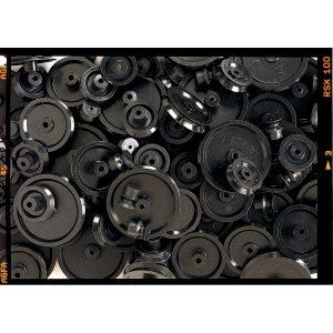 Pulleys - 100 (25 of Ea. 10, 20, 30 & 40mm)