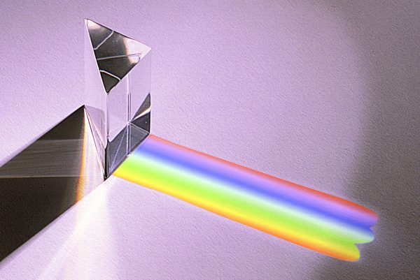 """Prism, Arcylic, Right-angle, 1.75"""" Long-1"""
