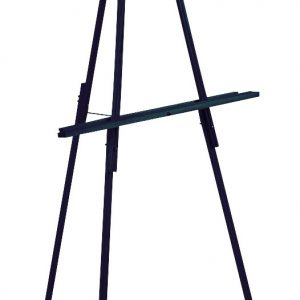 Black Wooden Floor Easel 65""