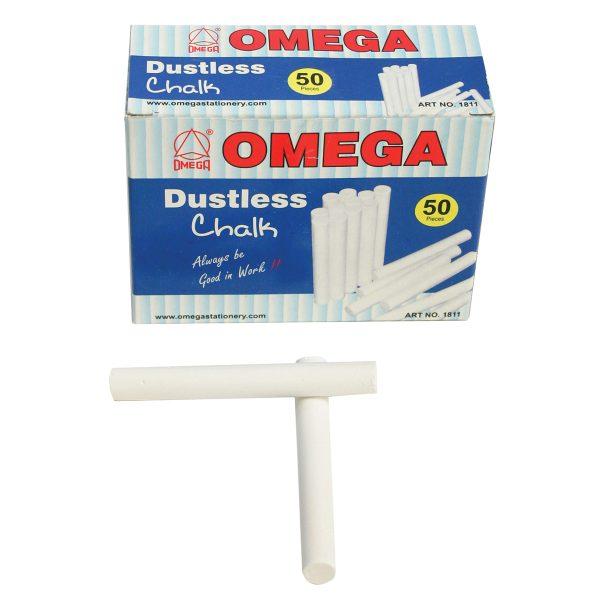 Omega Dustless White Chalk