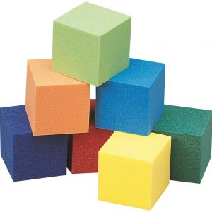 "Cubes, Foam, 1"", Set of 102"