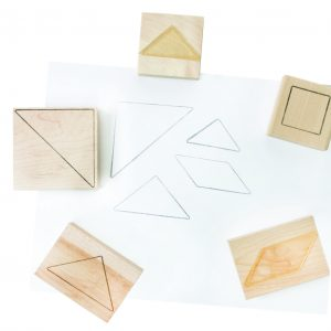Stamps - Tangrams Set of 5