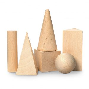 Mini Geometric Solids - Set of 6