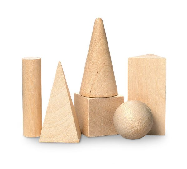 Mini Geometric Solids - Set of 6
