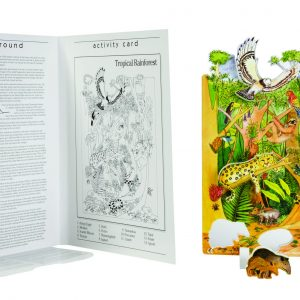 Book Plus Foam Model: Rainforest Habitat