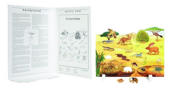 Book Plus Foam Model: Desert Habitat
