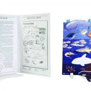 Book Plus Foam Model: Ocean Habitat